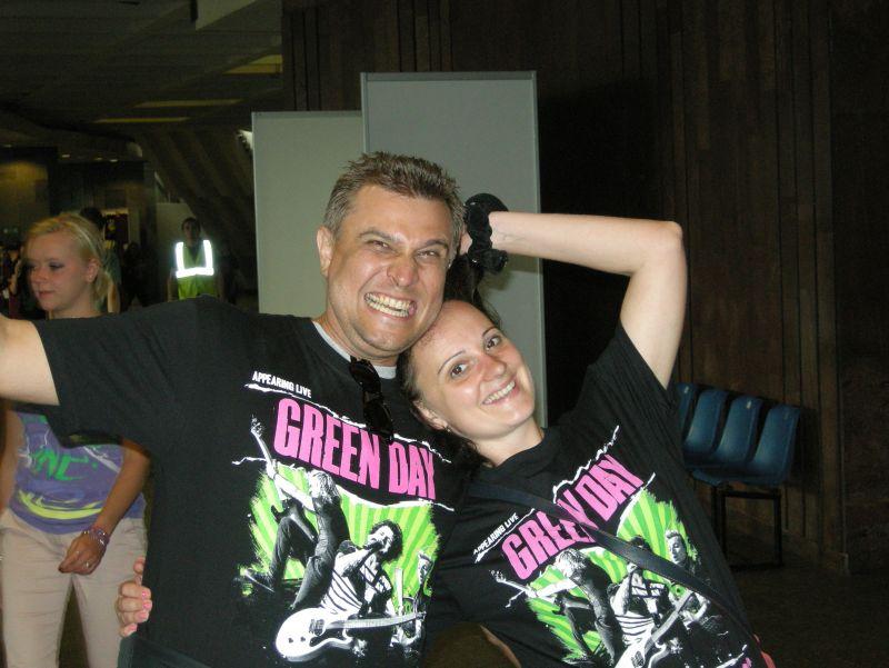 Концерт Green Day в Питере, 23.06.2013