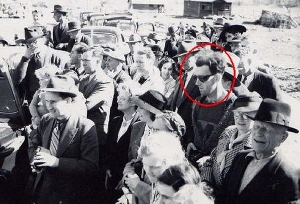 Человек из будущего. Фотография 1941г.