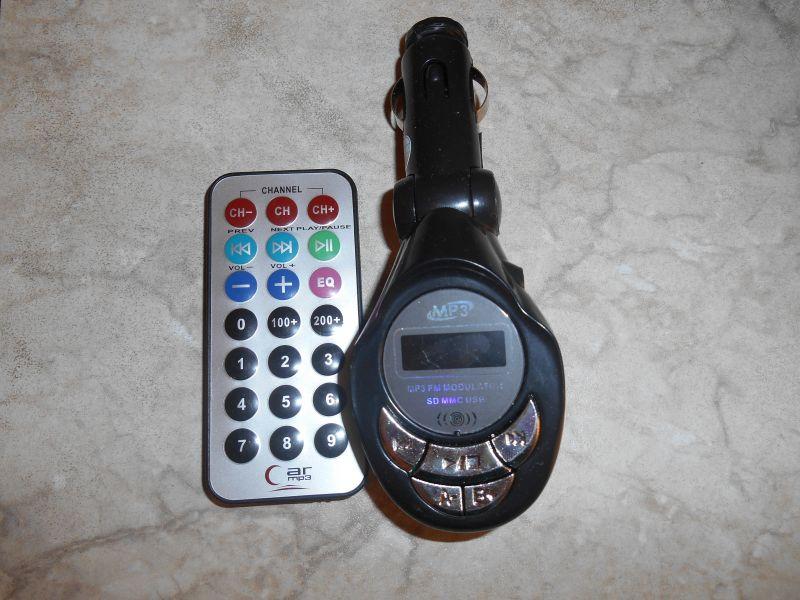 Модулятор для прослушивания музыки в автомобиле