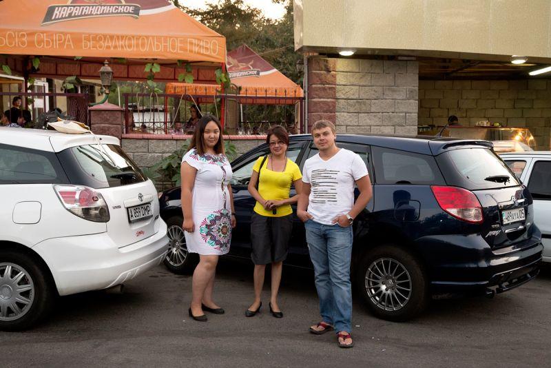 Встреча Клуба Toyota Matrix Almaty