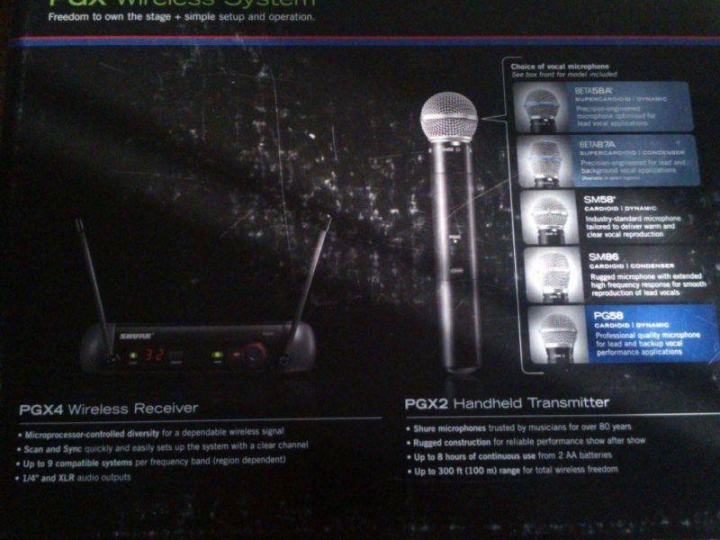 microphone SHURE76