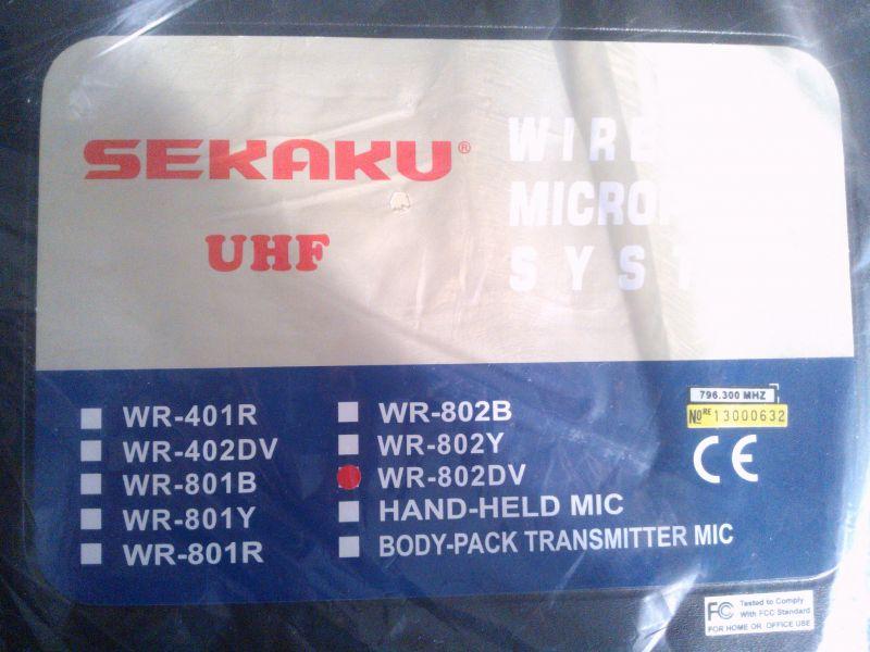 microphone Sekaku