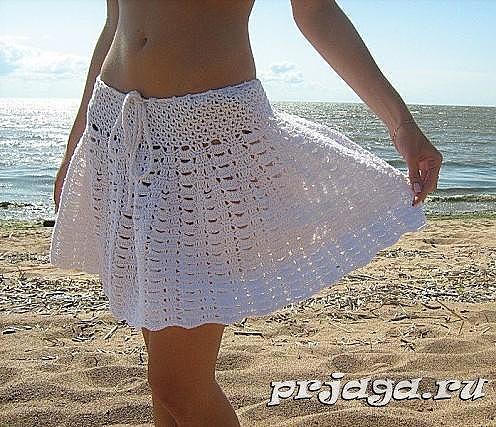 пляжная юбочка крючком (закл.)