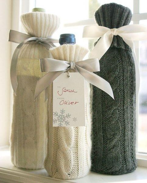 Свитерочки для бутылок