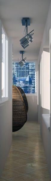 рендер гостиной прихожей балкона 04 12 130044
