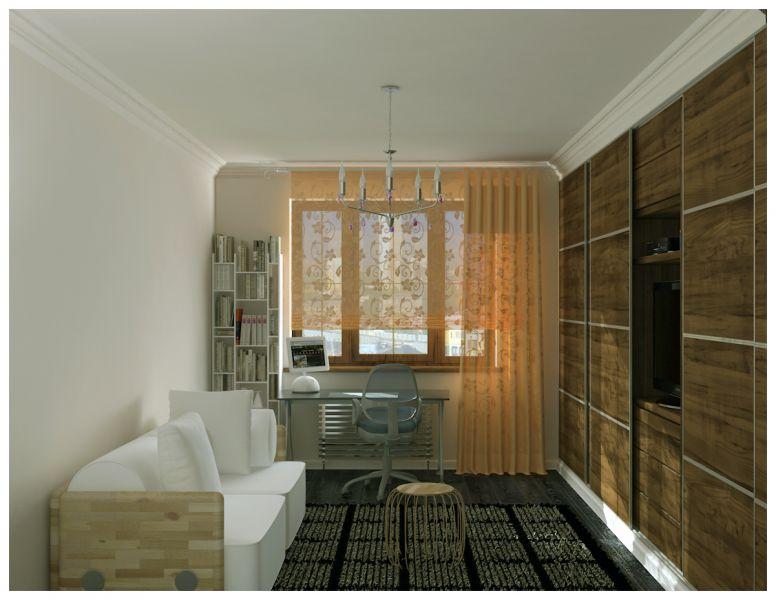 Спальни и балкон0010