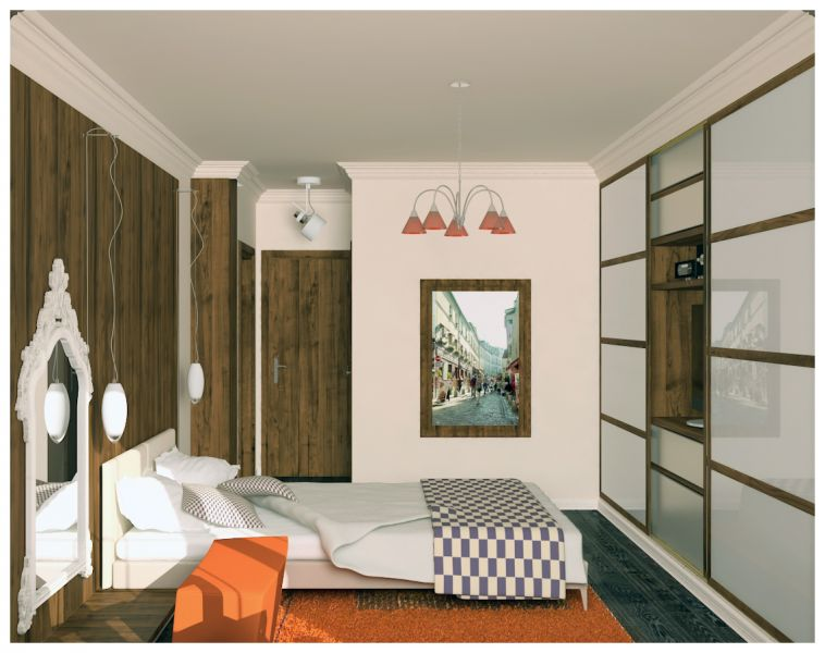 Спальни и балкон0006