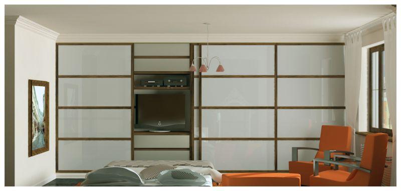 Спальни и балкон0001