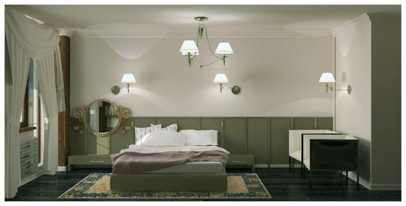 Спальни и балкон0018