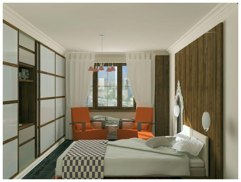 Спальни и балкон0004