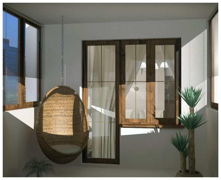 Спальни и балкон0024