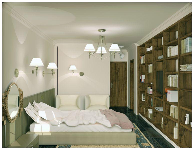Спальни и балкон0022