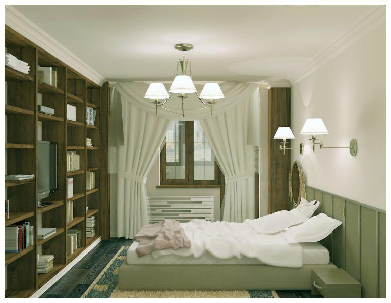 Спальни и балкон0020