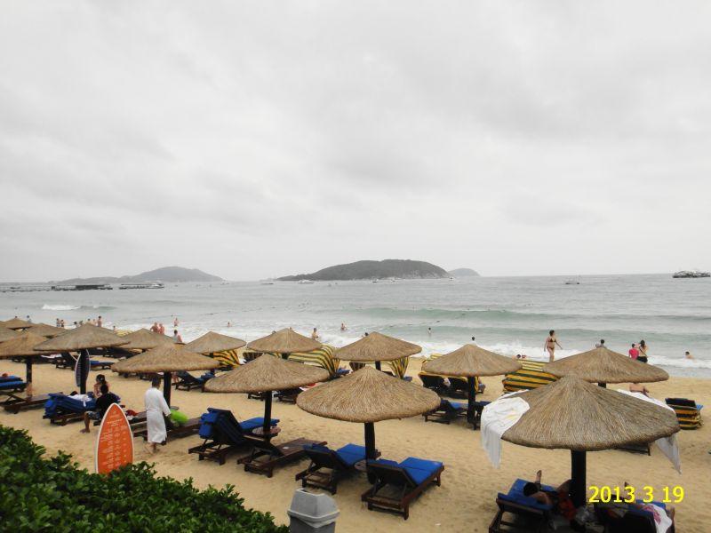Хайнань, отель Кактус, пляж