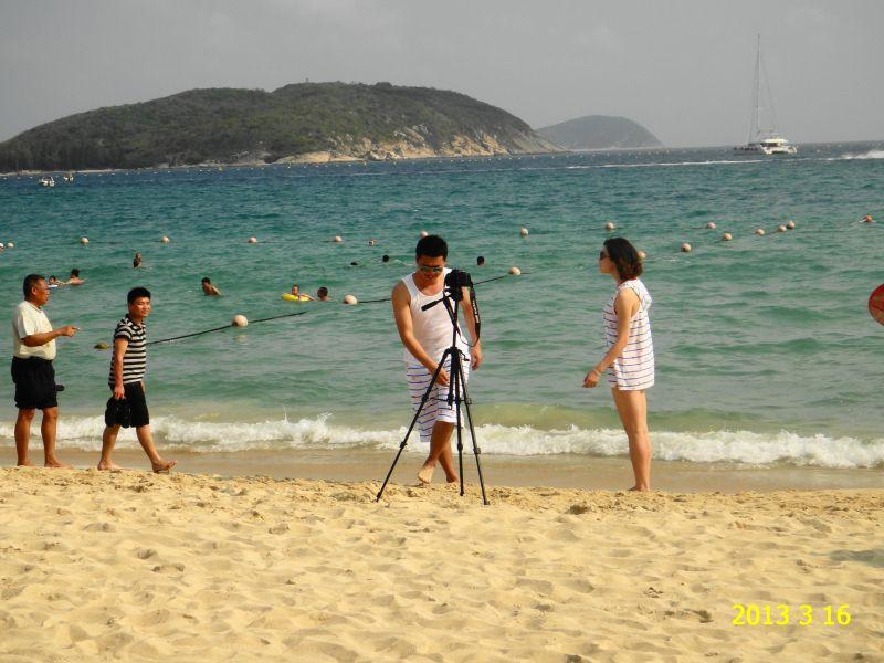 Хайнань, отель Кактус,пляж