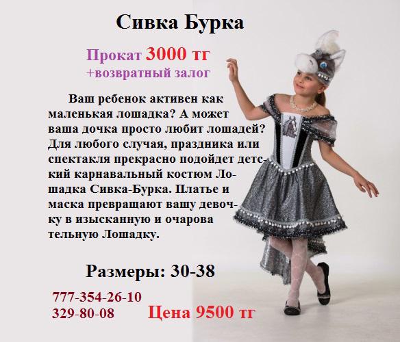 Костюм Сивка Бурка