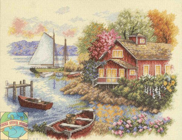 """Peaceful Lake House"" (Домик у озера)"