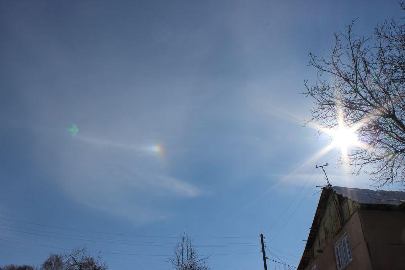 солнце - в объектив
