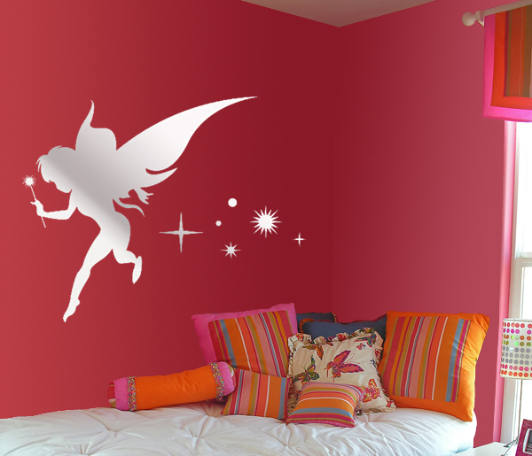 mirror effect stickers design ideas In kidsroom8