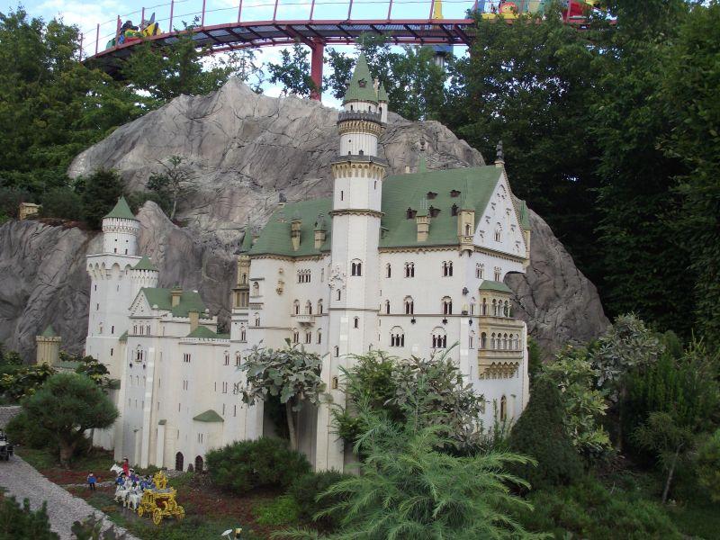 Neuschwanstein в Legoland