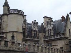 Крыши аббатства Cluny