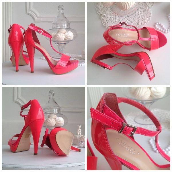 Розовые туфли 12000 тг