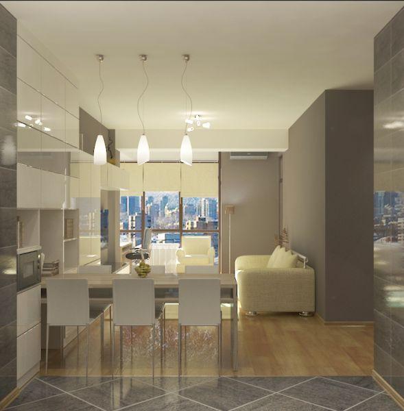 """Двухкомнатная квартира в ЖК """"Central Park"""""""