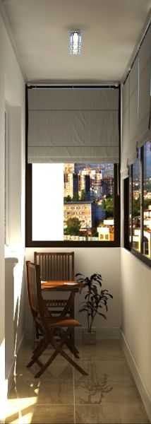 055 балкон кухни