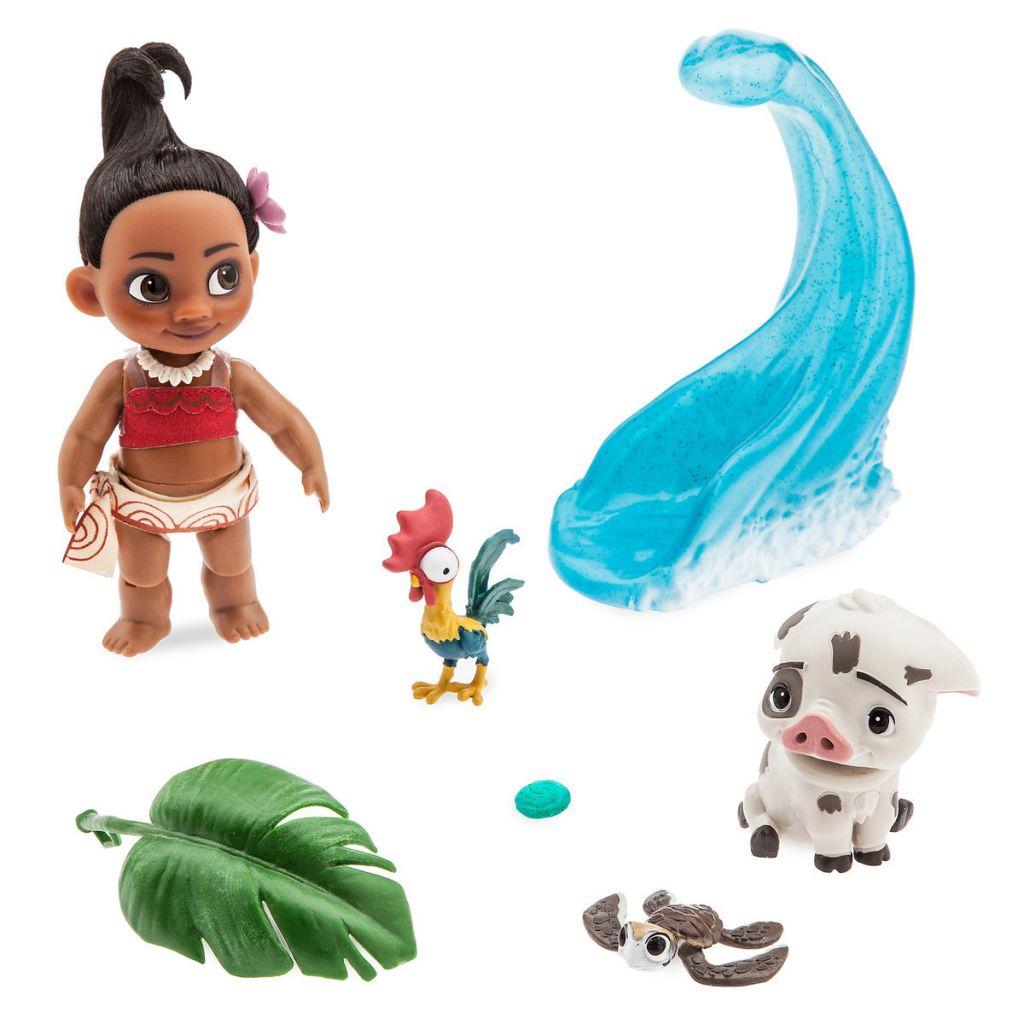 Игровой набор с мини-куклой Моаной - Disney Animators' Collection