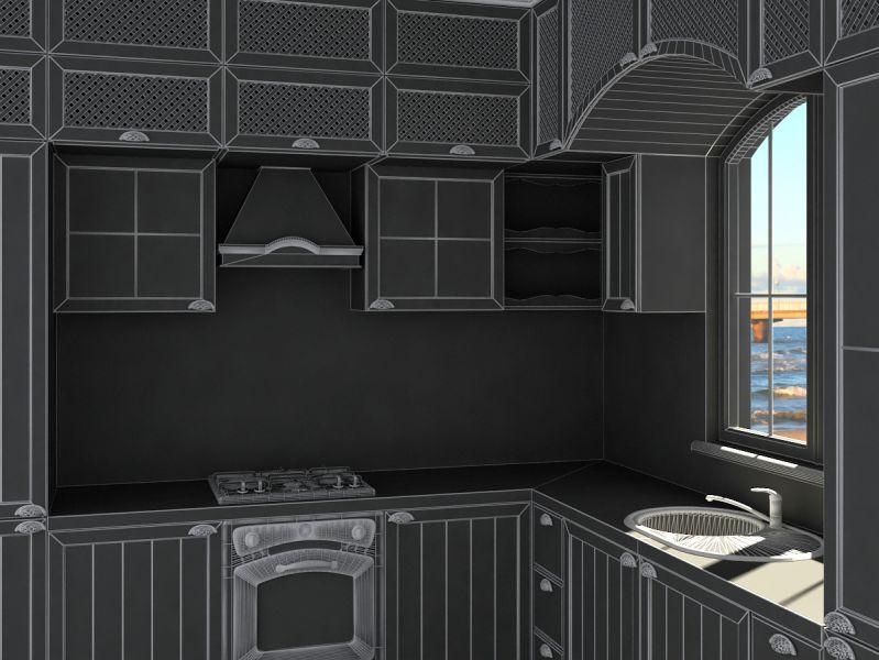 Kitchen Provence010008