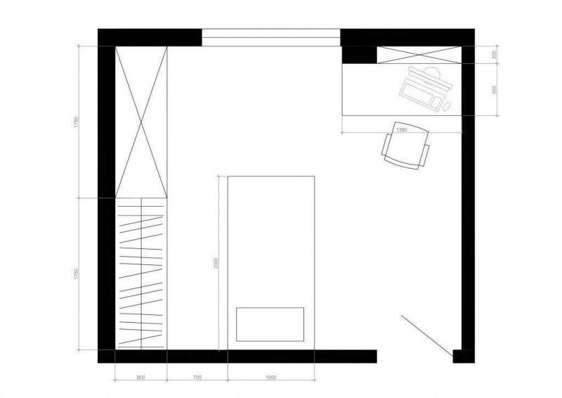 D Ролики по ремонту маминой квартиры Чертеж1 Model (1)