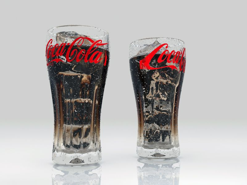 coke Ice glass render0004