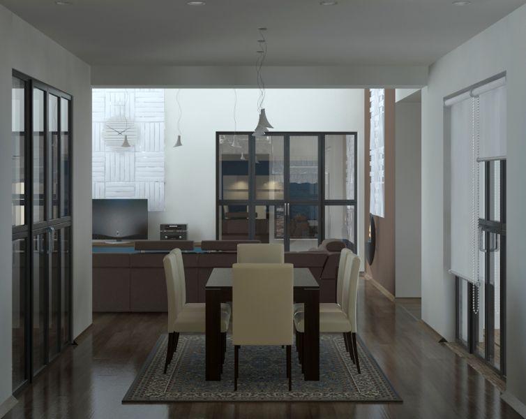 Обе гостиные, кухня, столовая, лестница1 14.11.0034
