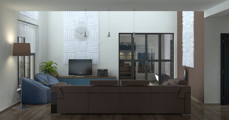 Обе гостиные, кухня, столовая, лестница1 14.11.0022