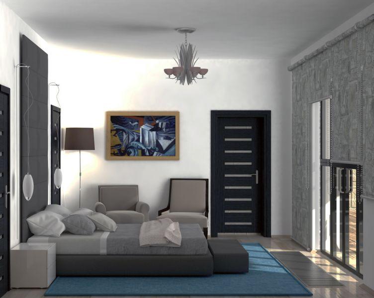 главная спальня с санузлом и гардеробной 07.10.0004