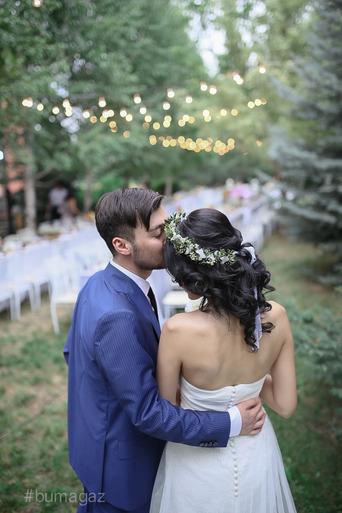 свадьба на воздухе