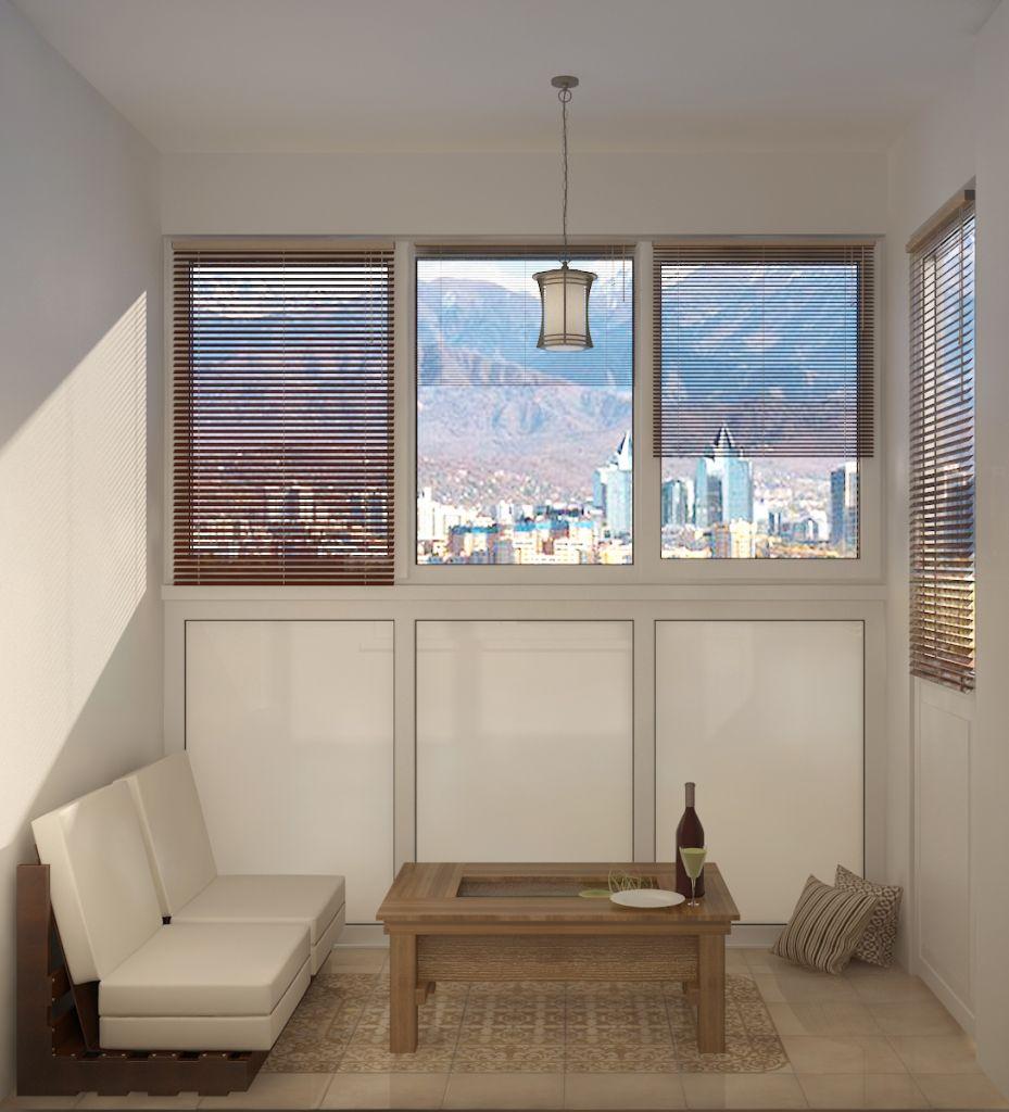 Балкон кухни-столовой