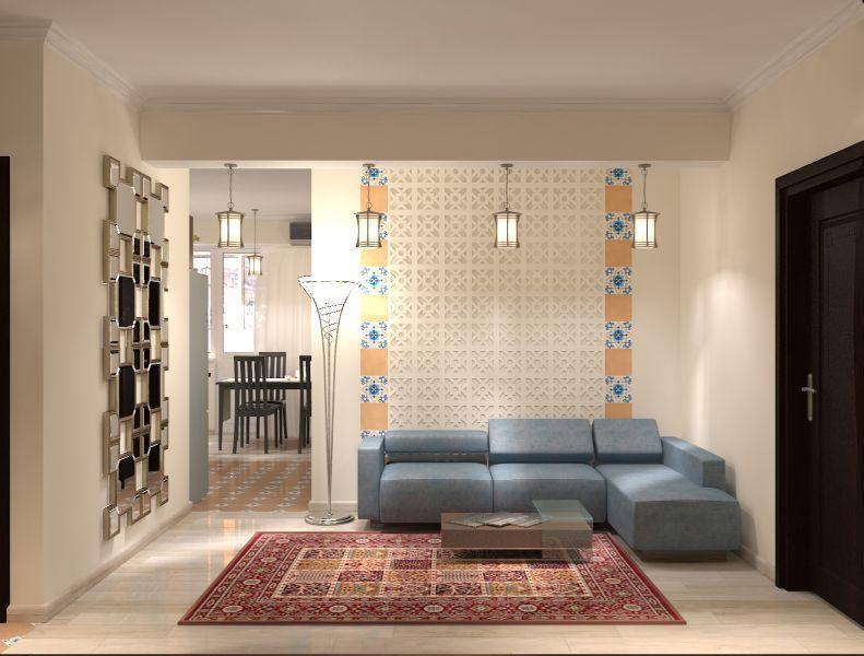 Прихожая гостиная кухня столовая кабинет балкон0038