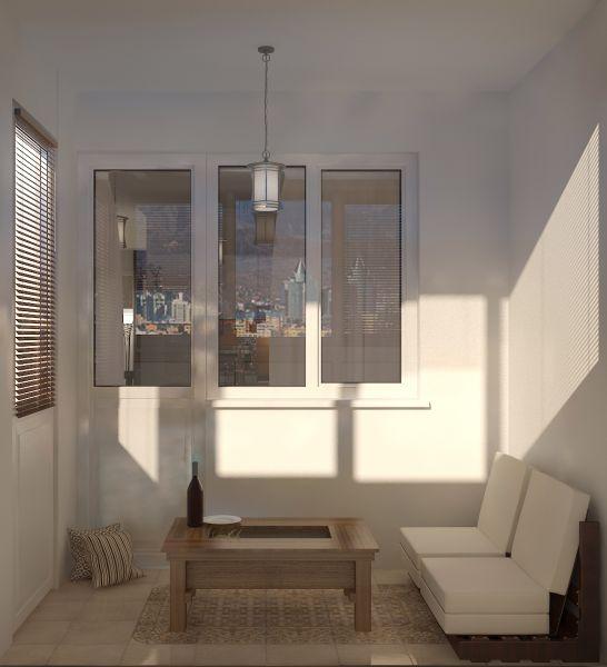 Прихожая гостиная кухня столовая кабинет балкон0064