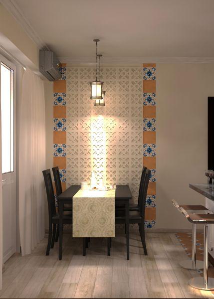 Прихожая гостиная кухня столовая кабинет балкон0059