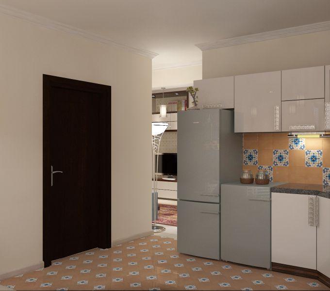 Прихожая гостиная кухня столовая кабинет балкон0049