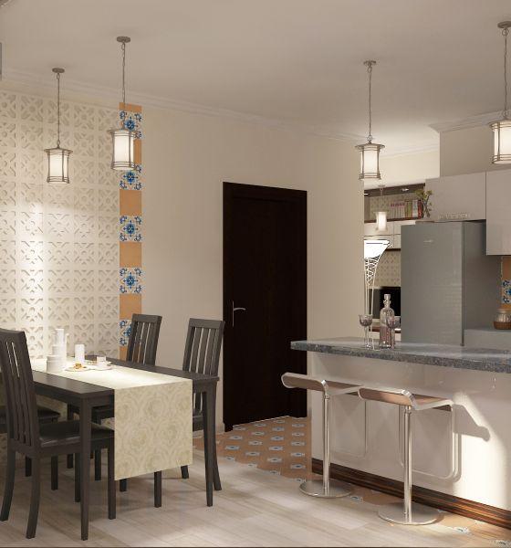 Прихожая гостиная кухня столовая кабинет балкон0058