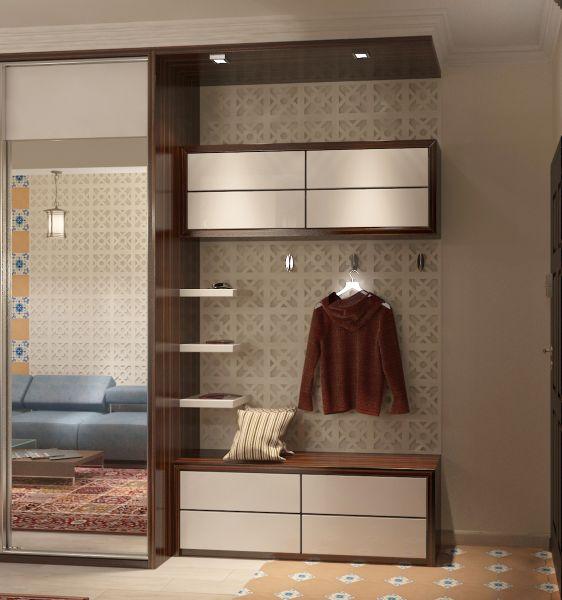 Прихожая гостиная кухня столовая кабинет балкон0035