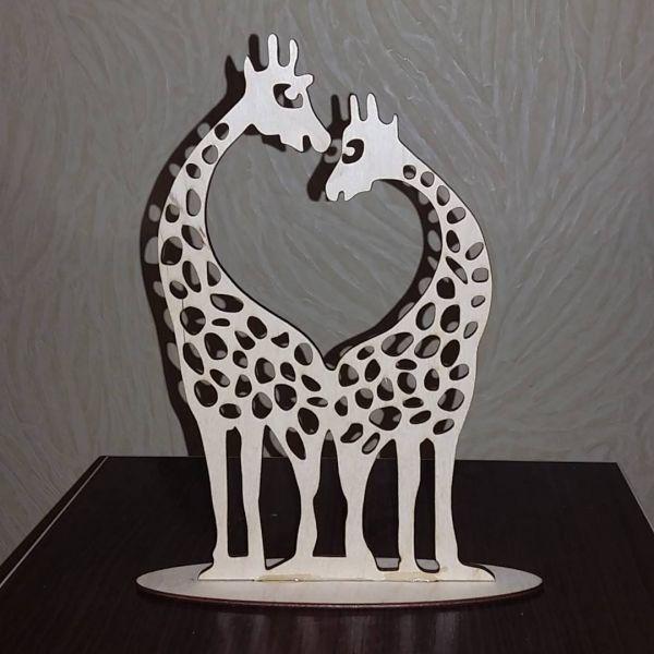 Семейка жирафов