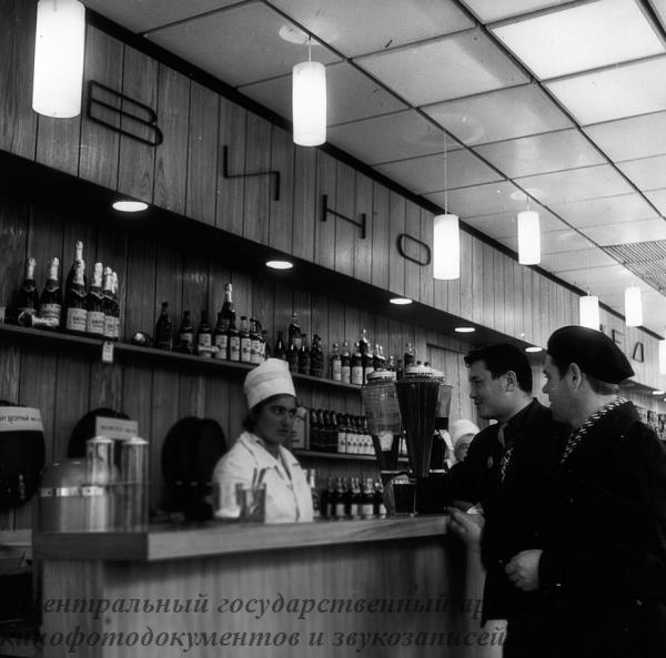 1967  магазин кооператор открытие Баранов Ю.