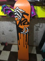 Сноуборд K2 After Black 163 Цена: 45000тг.