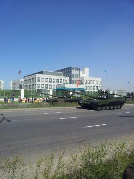 Парад 7 мая 2014. Астана.