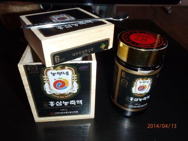 "Экстракт 6-летнего женьшеня ""Korean red ginseng extract"""