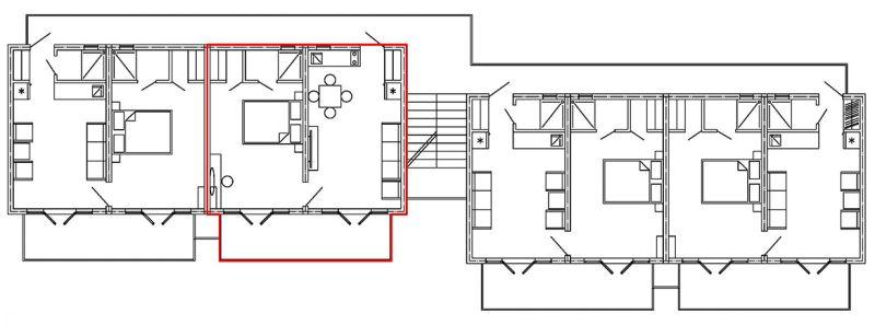 план 3 го этажа