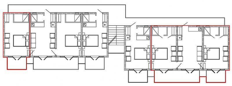 план 4 го этажа